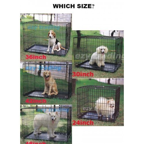 Dog Crates Amp Dog Cage Collapsible 2 Doors Vebo Pet