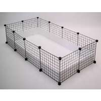 Guinea Pig C&C Cage with Corflute Base - Medium (140 x 70cm)
