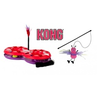 KONG Active 8-track Interactive Cat Toy with BONUS Teaser Toy