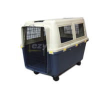VEBO Airline Plastic Pet Carrier Crate for Medium Dogs (2 sizes)