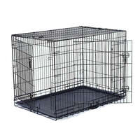 VEBO Collapsible Metal Wire Pet Dog Crate (5 sizes)