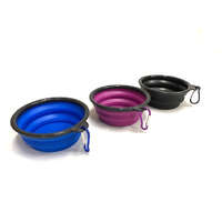 VEBO Folding Silicone Travel Water Bowls (2 Pack)
