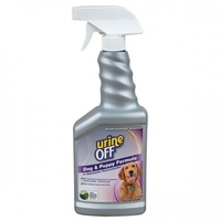 Urine Off Odour and Stain remover 500ml Spray Bottle for Dogs