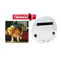 Transcat 4-way Locking Pet Door for Glass Fitting (Dog door)