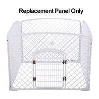 VEBO Portable Plastic Puppy Play Pen (Replacement Panel)
