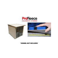 ProFleece 1200gsm Dry Vet Bed for VEBO Outdoor Dog Kennel