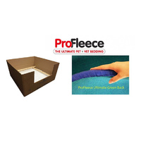 ProFleece 1600gsm Dry Vet Bed (Carpet backing) for Whelping Boxes