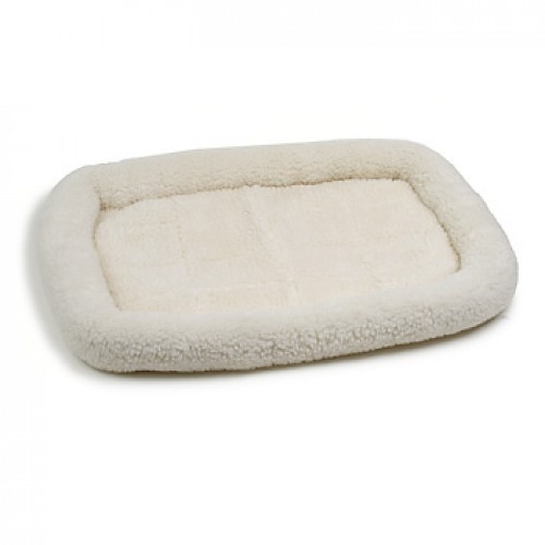 Soft Woolen-Feel Crate Mat Bed for Pets (Small)