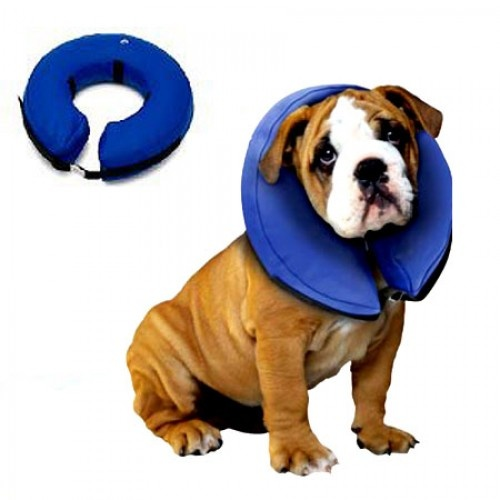 Inflatable Elizabethan Pet Dog Cat Collar (XSmall)