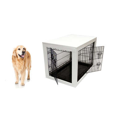 VEBO Wooden Dog Crate Kit (42inch XL)