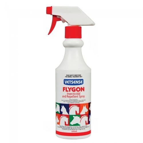 Vetsense Flygon Insecticidal and Repellent Spray (500ml)