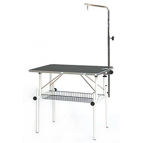 VEBO Height Adjustable Pet Grooming Table with Arm (Small)