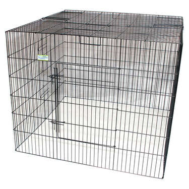 VEBO Enclosed pet exercise pen with door (3 sizes)